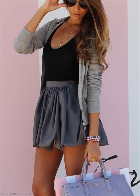25+ Best Ideas about Gray Skirt on Pinterest | Gray skirt outfits Grey maxi skirts and Midi skirts