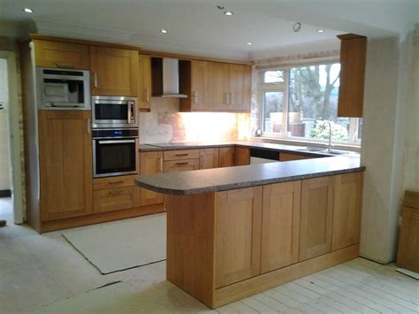 Of Kitchen by Rutland Oak Shaker Kitchen In Chesterfield S42 Nankivells