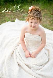33 best images about girl in mom39s wedding dress on With little girl in wedding dress pinterest