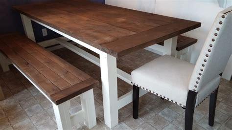 shanty 2 chic farmhouse table farmhouse table and bench shanty 2 chic