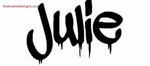 Graffiti Name Tattoo Designs Julie Free Lettering - Free ...