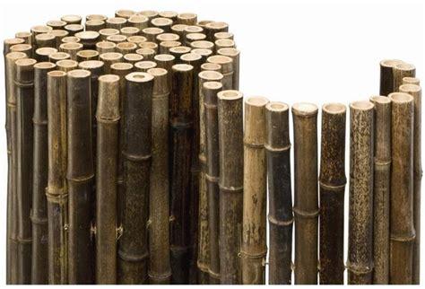 noor bambusmatte black bambus sichtschutz zaun balkon hertie de