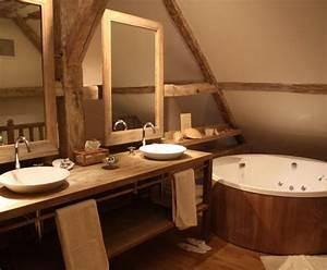 decoration salle de bain mansardee With salle de bain mansardee photos