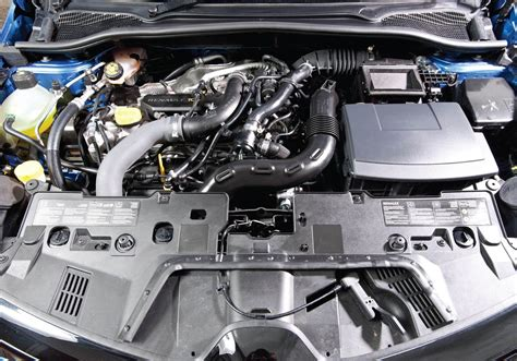 renault clio v6 engine bay renault clio hatchback 2012 photos parkers