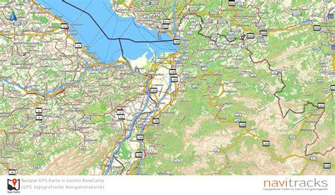 deutschland topo gps karte garmin mit  srtm hoehenlinien