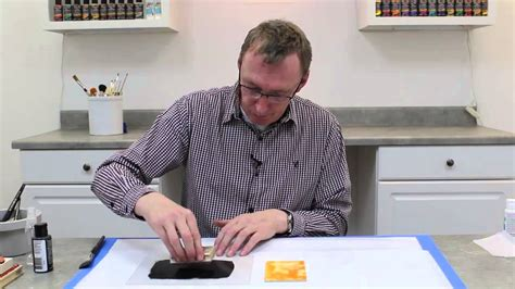 Andy Skinner  Stamping With Acrylics Youtube