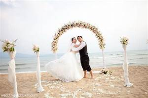 Simple and small romantic beach wedding ideas in phuket for Small beach wedding ideas