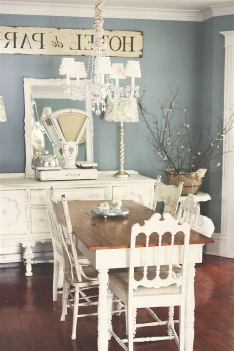 mushroom paint color dining room shabby chic style with