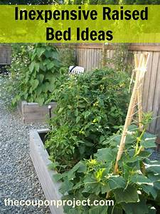Frugal gardening four inexpensive raised bed ideas for Inexpensive raised garden bed ideas