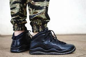 Air Jordan 10 OVO Black 2016 Release | SneakerFiles