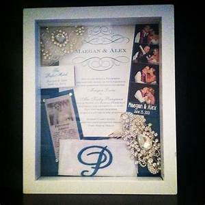 pin by sara petrucci on engagement wedding ideas pinterest With wedding invitation in shadow box