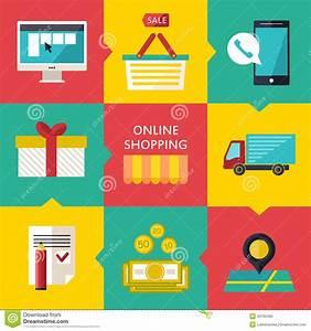T Online Service Shopping : online shopping process concept vector illustration of business web commerce stock vector ~ Eleganceandgraceweddings.com Haus und Dekorationen