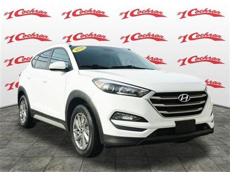 Certified Pre Owned Hyundai Tucson by Certified Pre Owned 2018 Hyundai Tucson Sel 4d Sport