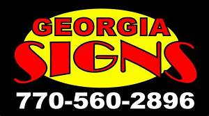 atlanta sign company georgia signs 770 560 2896 channel With channel letter signs atlanta