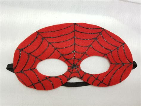Máscara do Homem Aranha no Elo7 Papel Poá Festas
