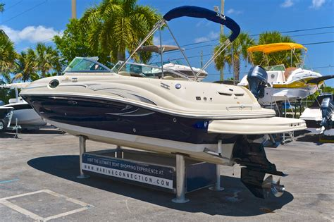 sea deck boat 240 used 2006 sea 240 sundeck boat for sale in west palm