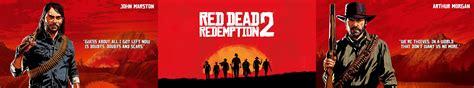Red Dead Redemption Triple Monitor 4k Wallpaper