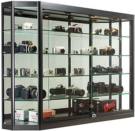 used lockable glass display cabinets display cabinets locking tempered glass doors
