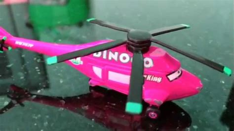 disney cars dinoco king helicopter review