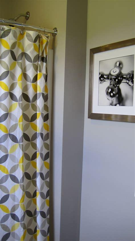 grey and yellow bathroom i married a tree hugger cheery yellow and grey bathroom