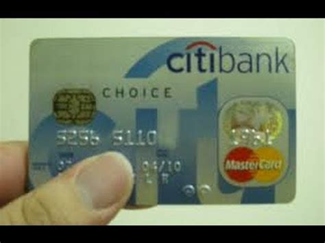 citibank bank credit card   payment youtube