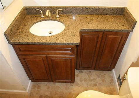 countertops  finished bathrooms vanity tops