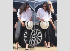 Meghan Markle Duchess and Prince Harry arrived at polo