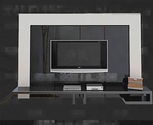 TV Background Wall 3D Models Free Download 3D Model