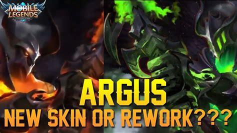 Wallpaper Mobile Legends Argus Dark Draconic
