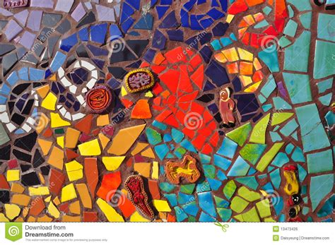 colorful mosaic ceramic tile stock photo image 13473426
