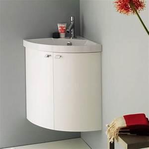 Lave Main D39angle Pour Salle De Bai Ou Toilettes Meuble