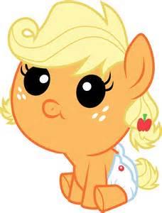 My Little Pony Baby Applejack