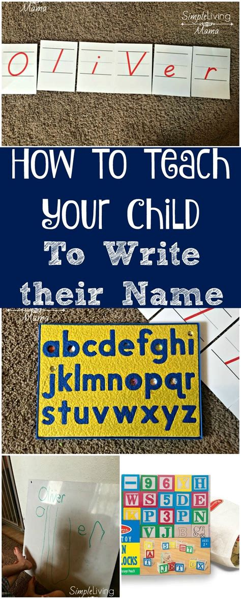 how to teach your child to write their name simple 562 | How to teach your child to write their name