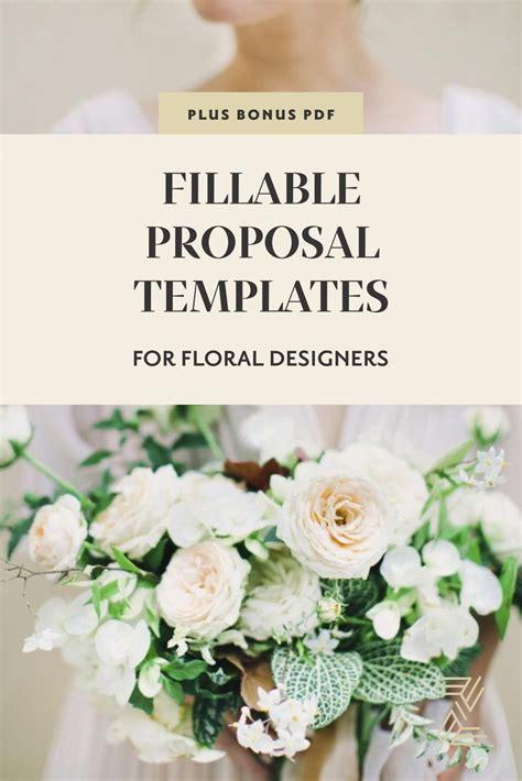 customizable proposal templates