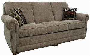 lancer 80 80 sofa with rolled arms and tapered wood feet With lapeer furniture and mattress store