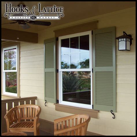 Vinyl Windows Exterior Vinyl Shutters For Windows