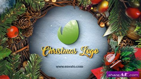 Christmas Logo After Effects Template by Videohive Christmas New Year Logo 187 Free After Effects