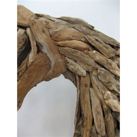 tete de cheval en bois flotte