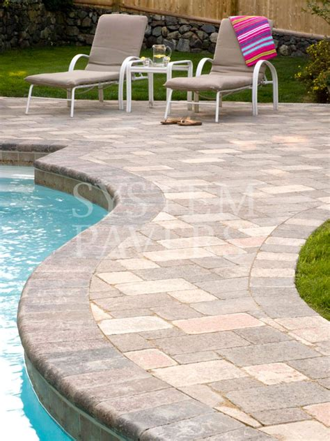 decking and paving ideas pool pavers swimming pool deck pavers