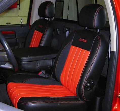Custom Automotive Leather Interior - Dodge Ram Daytona ...