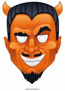 Masque Halloween A Fabriquer : le masque d 39 halloween imprimer ~ Melissatoandfro.com Idées de Décoration