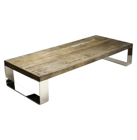 unique glass coffee tables darren contemporary reclaimed wood steel coffee table