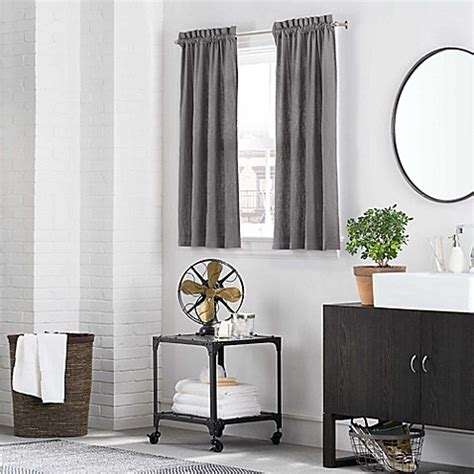 kenneth cole curtains kenneth cole reaction home mineral window curtain tier
