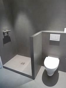 artisan platrier escalier voute sarrasine platre chaux With beton cire salle de bain