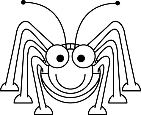 Coloring Clip by Grasshopper Clipart Black And White Clipart Panda Free