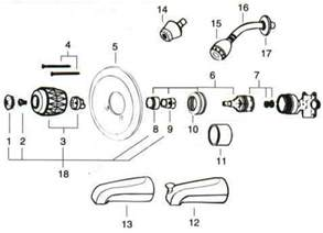 how to fix a price pfister kitchen faucet delta bathroom faucets schematics delta get free image about wiring diagram