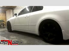Infiniti G35 Automobile Flat White Plasti Dip YouTube