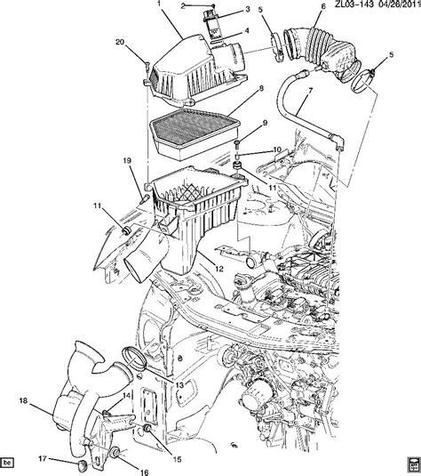 2006 Chevy V6 Engine Vacuum Diagram by 2011 2012 Chevrolet Equinox Captiva 3 0 Flex V6 Pcv