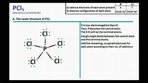Pcl5   Lewis Structure And Molecular Geometry