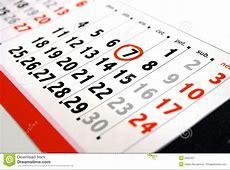 Calendar stock image Image of reminder, rendez, date